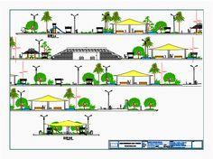 Park zonal (dwgAutocad drawing)