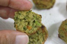 falafel vegan de forno