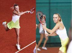 Caroline Wozniacki - Adidas by Stella McCartney dress for Australian Open 2013