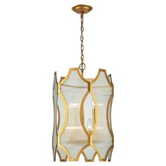 Showcasing sleek laser-cut panels formed into a hexagonal shape, this contemporary 6-light pendant lends chic style to your foyer or dining room.