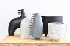 Ceramic Planters, Ceramic Vase, Ceramic Pottery, Pottery Art, Pottery Sculpture, Sculpture Clay, Contemporary Ceramics, Modern Ceramics, Ceramic Store