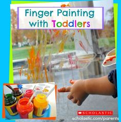 Simplify finger painting with these tips.