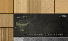 Mod The Sims - 7 Wood Floors - Neo Wood - volume 1