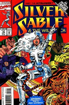 Silver Sable and the Wild Pack (1992) 16