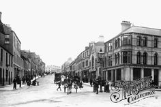 Photo of Bangor, Main Street 1897 from Francis Frith Bangor Northern Ireland, Main Street, Street View, Belfast, Old Houses, Genealogy, Old Photos, Binder, Maine
