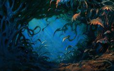 Enchanted forest by Ákos Haszon | Fantasy | 2D | CGSociety