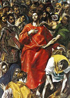 El Greco - Spoliation of Christ