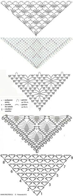 Best Totally Free Crochet shawl tutorial Tips Tücher, Schals, Schals, Stolen, Crochet Diagram, Crochet Chart, Free Crochet, Knit Crochet, Crochet Ideas, Crochet Shawls And Wraps, Crochet Scarves, Crochet Clothes, Lace Shawls