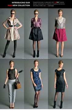 Madmen collection at Banana Republic. What do you think?