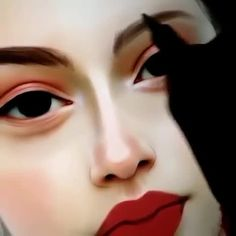 Ruby Caurlette is a 17 years old self-taught digital artist, from Syria. She makes impressive digital portrait drawings. Digital Painting Tutorials, Digital Art Tutorial, Art Tutorials, Digital Paintings, Illustration Vector, Website Illustration, Digital Art Beginner, Ipad Art, Digital Art Girl