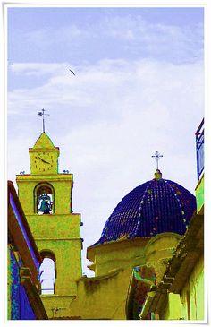 Església de la Mare de Déu de les Neus (Monfort) Alicante Spain