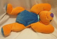"NWT TY Beanie Babies Pillow Pals KOLALA Koala Bear 13"" Plush Stuffed Orange 1998 | eBay"