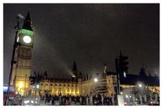 London, UK, Big Ben ❤  #london #night #dark #winter #uk #bigben