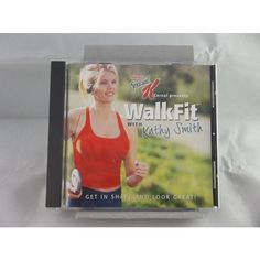 Kellogg's Special K Cereal Presents Walk Fit With Kathy Smith 2002 CD  #Kelloggs #SpecialK #Cereal #Walk #Fit #KathySmith #Exercise #Nutrition #Diet #Music #CD #Album #eBid