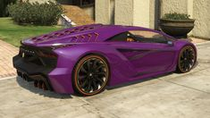 Pegassi Zentorno GTA 5 Rear