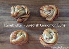 Home made Kanelbullar - Swedish Cinnamon Buns: