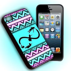 Custom Phone Case Aztec Infinity Peter Pan Fly For iPhone 4, iPhone 4s, iPod 4, iPod 5, Samsung Galaxy S3, Samsung Galaxy S4, Hard Cover on Etsy, $15.15