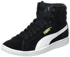 Rebel Mid WNS Summer, Sneakers Basses Femme, Noir Black Silver 01, 40.5 EUPuma