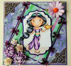 Designette: Paper Nest Dolls- Genie Avery