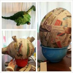 Dinosaur pinata can be a good decoration if you want to make a birthday party for the kid with dinosaur themed. I think that this is going to be a good party because the pinata can bring difference on the party Dinosaur Birthday Party, 6th Birthday Parties, Birthday Party Decorations, Boy Birthday, Diy Dinosaur Party Decorations, Festa Jurassic Park, Party Ideas, Diy Ideas, Cowboy Party