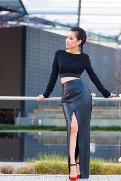 IMG_8746 Sexy leather and legs | por Leather fashion fashionista