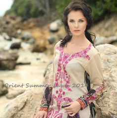 Orient Lawn Premium Summer Collection For Women 2014 1 Orient Lawn Premium Summer Collection For Women 2014