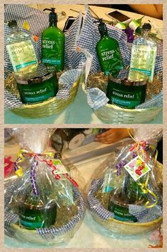 Perfect for Mother's day...stress relief basket