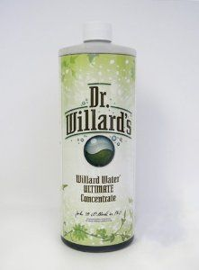 Dr. Willard's Willard Water ULTIMATE Dark Concentrate Quart 32 Oz by Dr. Willard's. $59.95. Increases water alkalinity. Free radical scavenger. Contains trace minerals from lignite. Enhances nutrient absorption. This, the Ultimate or Ultimate Dark Willard's Water, is and was Dr. Willard's third and final formulation of his Catalyst Altered Water, a/k/a Willard's Water. Dr. Willard himself chose Nutrition Coalition, Inc. as the only authorized Distributor of the...