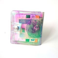Check out this item in my Etsy shop https://www.etsy.com/listing/286746979/credit-card-holder-clear-vinyl-wallet