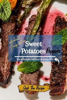 Steak Dinner Recipes, Whole30 Dinner Recipes, Clean Eating Recipes For Dinner, Beef Recipes, Good Healthy Recipes, Healthy Cooking, Healthy Snacks, Perfect Image, Perfect Photo