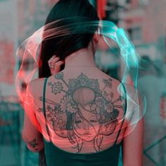 japanese girl tattoo - maybe to finish my back?