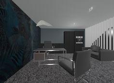 Private office - interior design