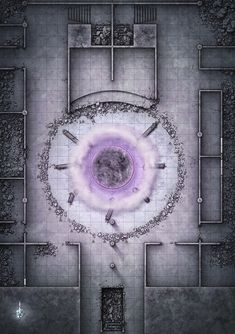 Ruin temple w active gate maps