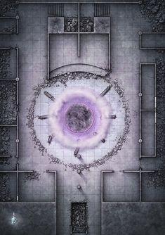 Ruin temple w active gate maps