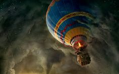 Oz the Great and Powerful : Escape Pod - http://www.greatamericandays.com/experience/airborne/hot_air_balloon_flights