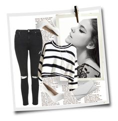 """""""Black and White"""" by fashiolover2515 on Polyvore"""