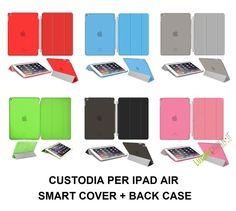 Ipad Air Smart Cover Apple Custodia Per Magnetica New Case Back Pieghevole Slim