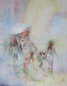 "Saatchi Art Artist Kwaschny Lidiya; Painting, ""happiness"" #art"