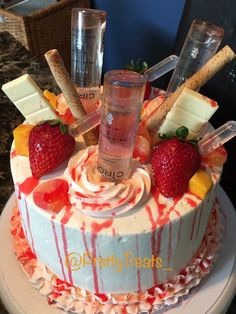 Liquor Bottle Cake Decorations Hennessy Cake  Birthday Ideas  Pinterest  Hennessy Cake Cake