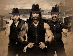 Handsome cowboys The Shield