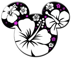 hawaiian mickey mouse icon - Google Search