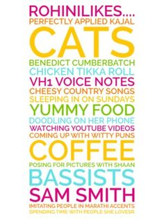 Generate a personalised likes poster gift