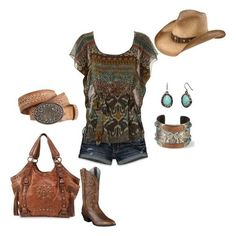Fashion look from april 2012 featuring yellow dress heeled sandals - 1000 Images About Country Girl State Of Mind On Pinterest