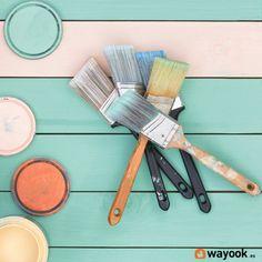 Si estás pensando darle un cambio de aires alguna estancia de tu casa y no sabes por dónde empezar, tenemos la solución. Te enseñamos como pintar una habitacion. #Wayook #decoración #pintar #pintura #habitación #colores #colours #trucos #consejos #pasos #pared #brochas #decor #painting