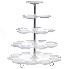 5-Tier Cupcake Buffet Cake Stand Dispaly Holder Party Wedding