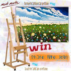 Enter the competition here: https://www.facebook.com/MontMarteArt?sk=app_228910107186452