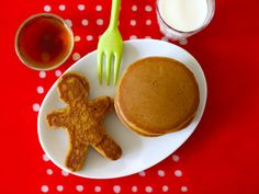 All the spicy deliciousness of gingerbread men but perfect for breakfast!