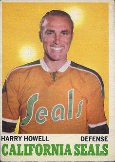 harry howell california golden seals