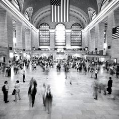 Grand Central Station photo NYC New York City by NancyFphotos. #Etsy