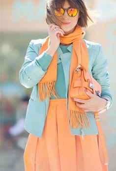 orange for everyday on GalantGirl.com